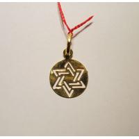 Maguen David stylisée en or