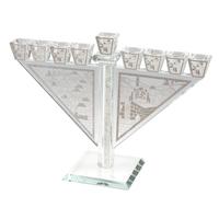 Hanoukia élégante en cristal