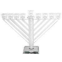 Hanoukia en V cristal style habad