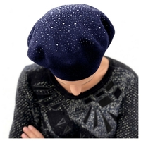 Beret Constellation angora cachemire et acrylique