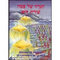 La hagada hébreu-français-phonétique grand format relié