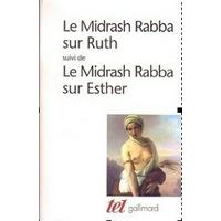 Midrach sur Ruth et Esther
