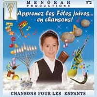 CD j'apprends les fêtes juives en chansons