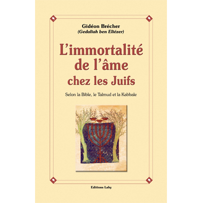L'Immortalité de l'âme chez les juifs de Gidéon Brécher