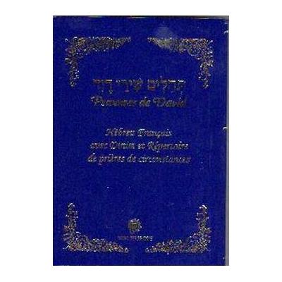 Psaumes Chiré David hebreu français poche couverture souple
