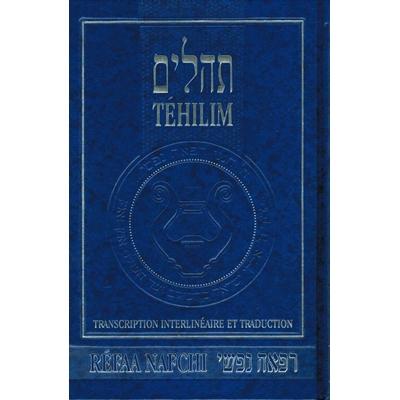 Psaumes  Refaa Nafchi grand modèle bleu relié 19X13 cm