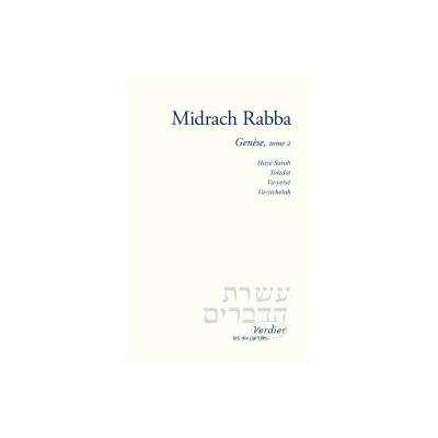 Midrach Rabba Genèse tome 2