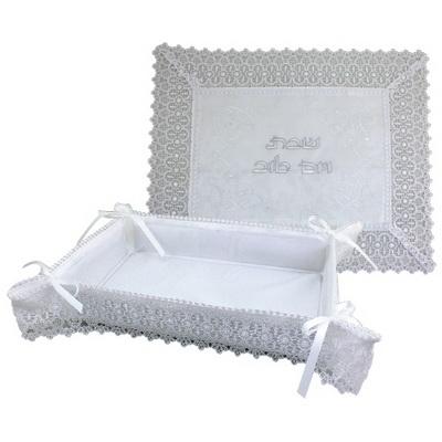 Set pour le pain et son napperon en tissu