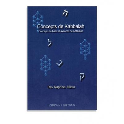 Concepts de kabbalah de rav Raphael Afilalo