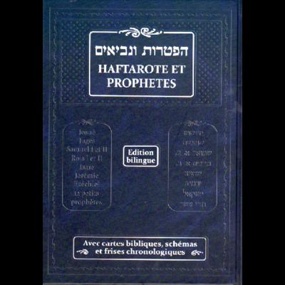 Haftaroth et prophètes bilingue