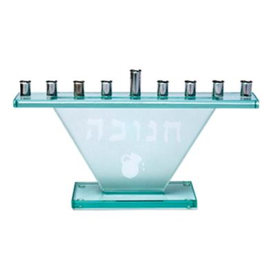 Hanoukia en verre petit prix