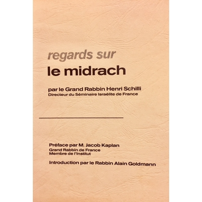 Regards sur le Midrach