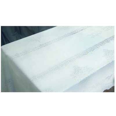 Nappe blanche pour chabat et fêtes  350X140 cm