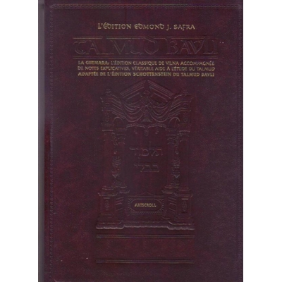 Le Talmud billingue Pessahim vol 3 éditions Artscroll