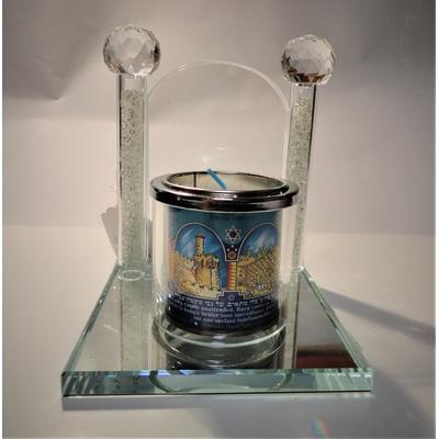 Porte bougie en cristal à la mémoire de...