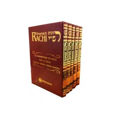 Le Pentateuque Rachi mot à mot 5 volumes