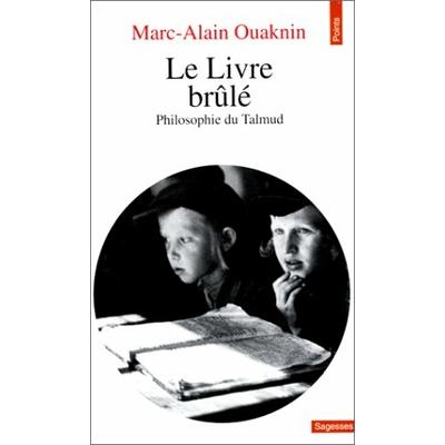 Le livre brulé de M.A.Ouaknin