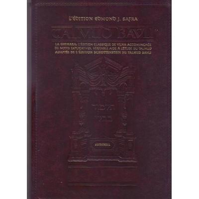 Le Talmud bilingue Artscroll Traité Betsa complet