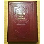 Psaumes heb fr phon en cuir marron gd format