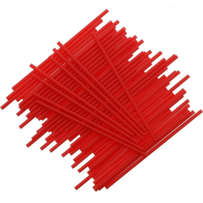 Bâtonnets à Cake pop - Rouge- Lot de 25