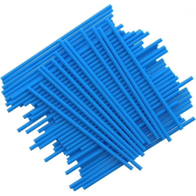 Bâtonnets à Cake pop - Bleu - Lot de 25