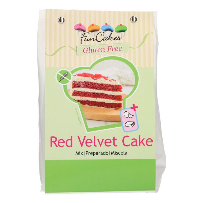 Préparation 400 g- Red Velvet Cake sans gluten