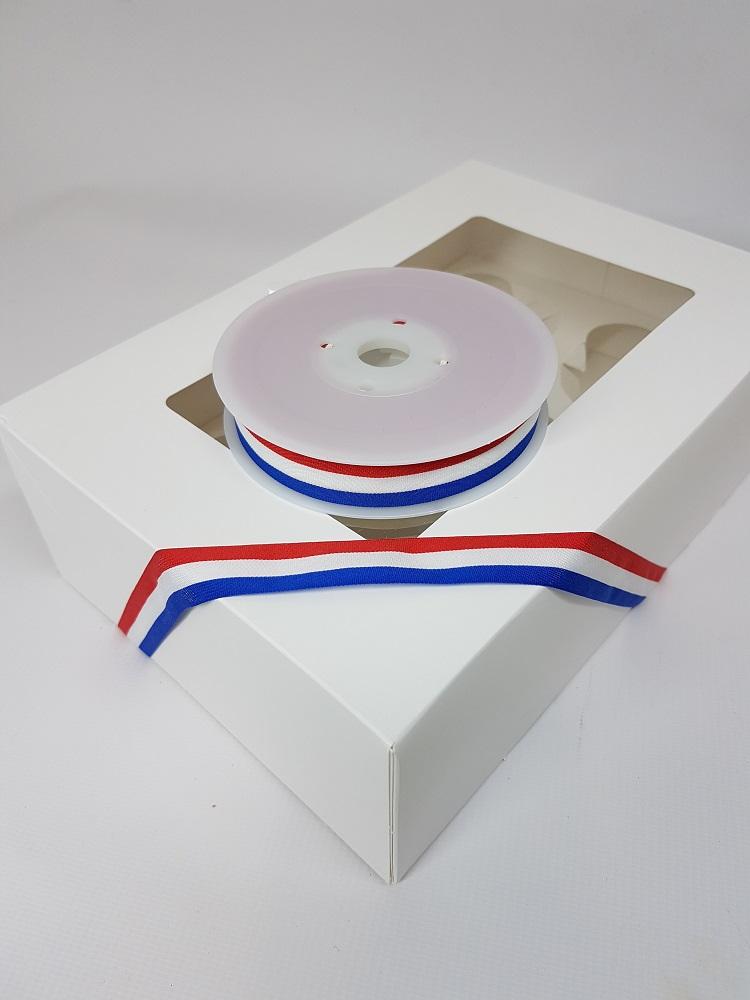 Ruban 1 M - Bleu/Blanc/Rouge