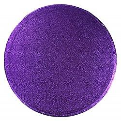 Plateau à gâteaux rond - Violet - Choisir la taille