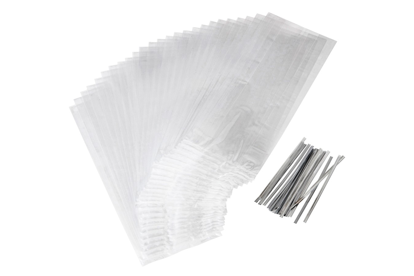 Sachets - Transparent - Lot de 25