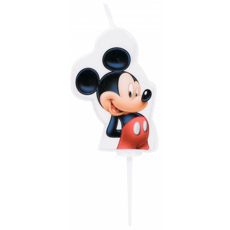 Bougie 2D Mickey Mouse
