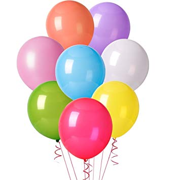 Ballons multicolores - Lot de 20