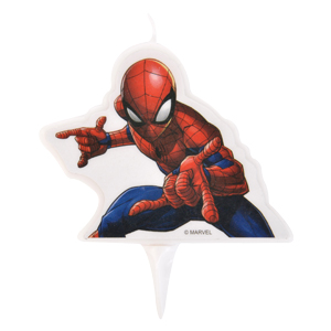 Bougie 2D Spiderman