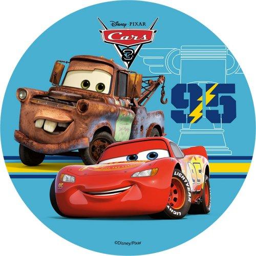 Disque azyme Cars 14.5cm