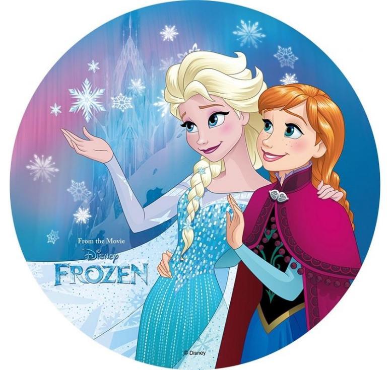 Disque azyme La Reine des neiges