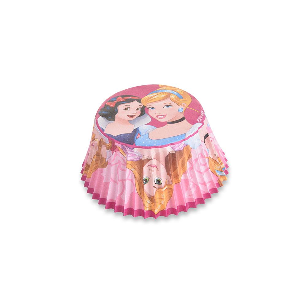 Caissettes à cupcake - Princesses - Lot de 50