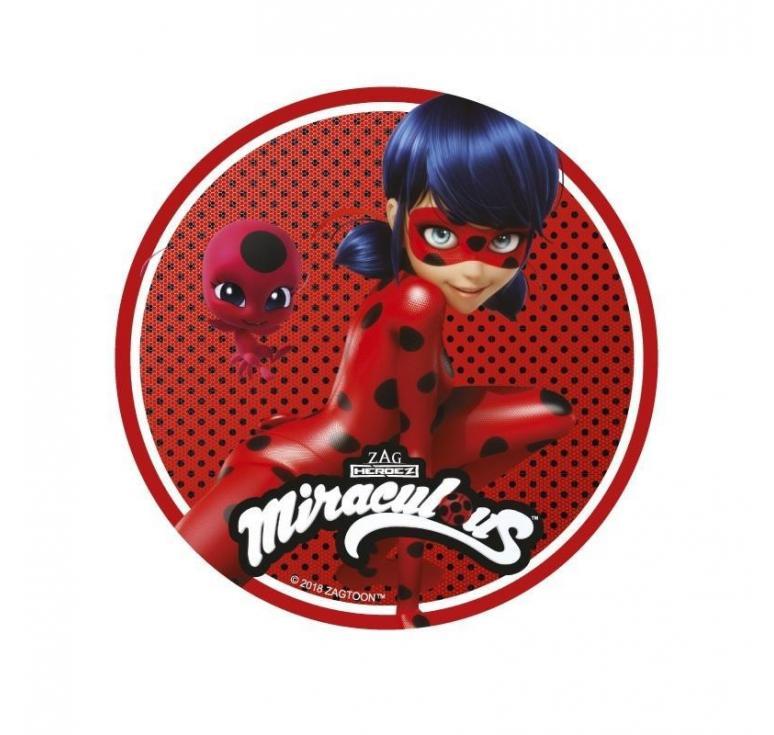 Disque azyme Miraculous Ladybug