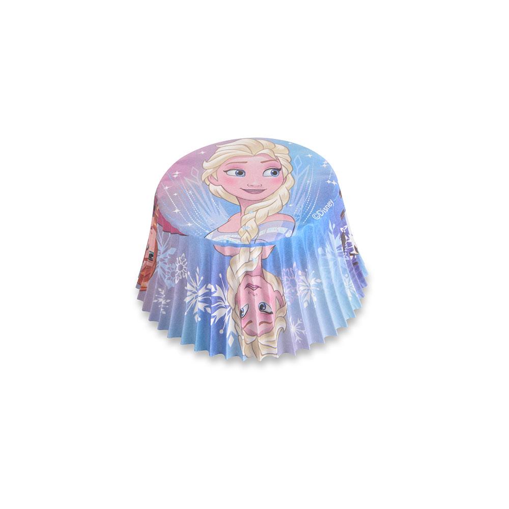 Caissettes à cupcake - Reine des neiges- Lot de 50