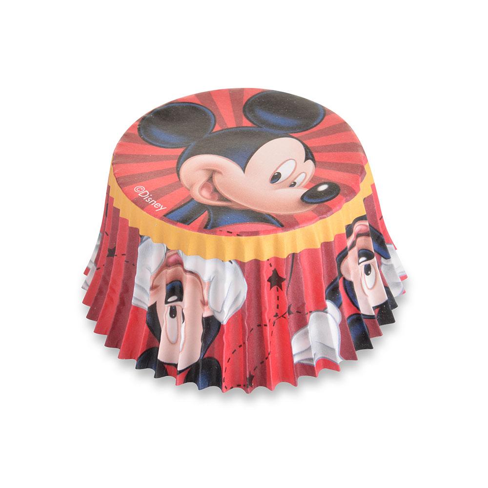 Caissettes à cupcake - Mickey- Lot de 50