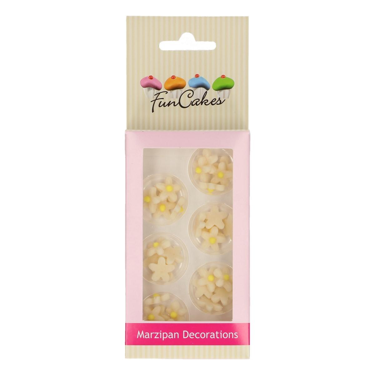 Décorations en sucre – Petites fleurs Ivoire