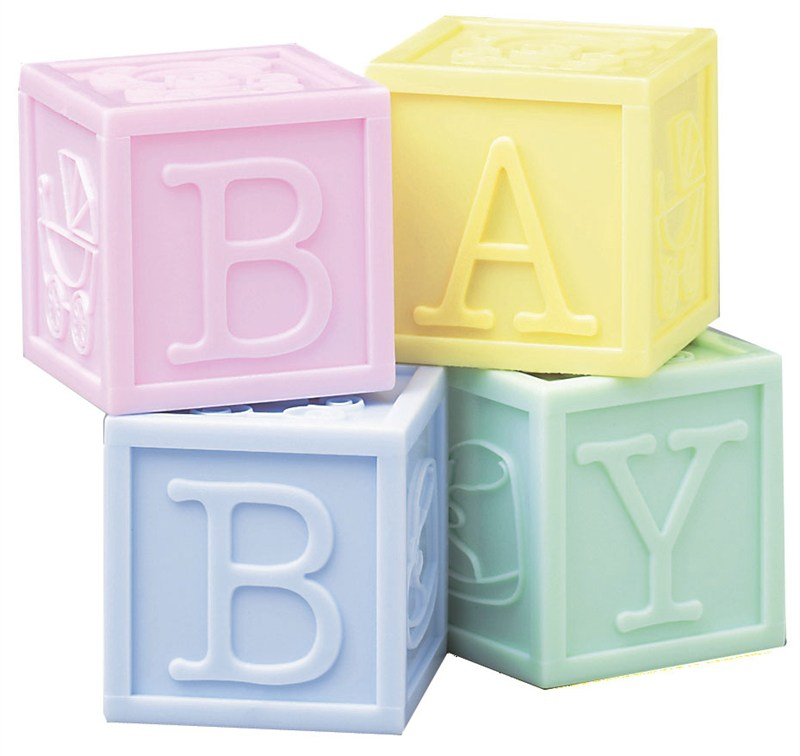 Cubes Baby - Lot de 4 pièces