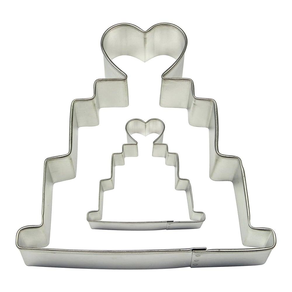 Découpoir – Gâteau de mariage – Lot de 2
