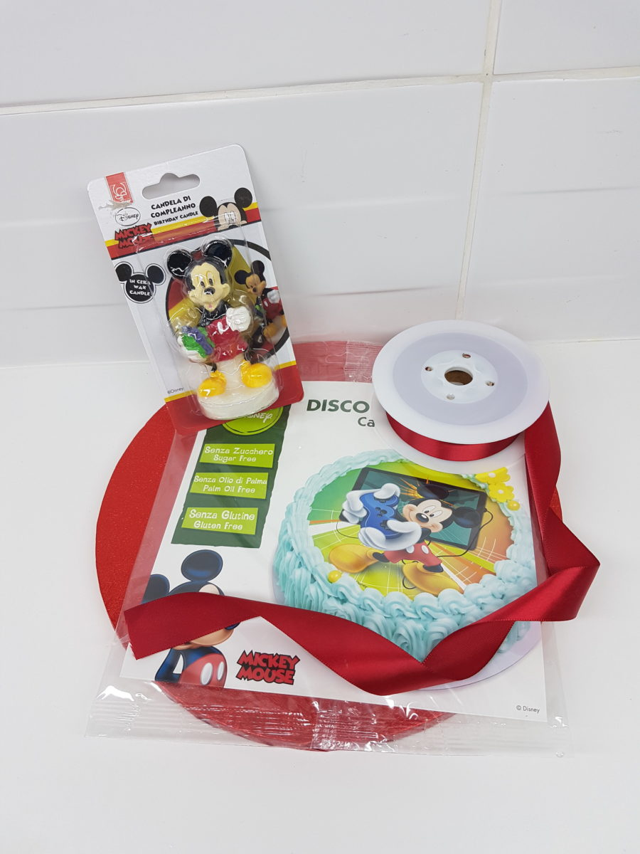 Kit Mickey (Sans Gluten ) – Lot de 4