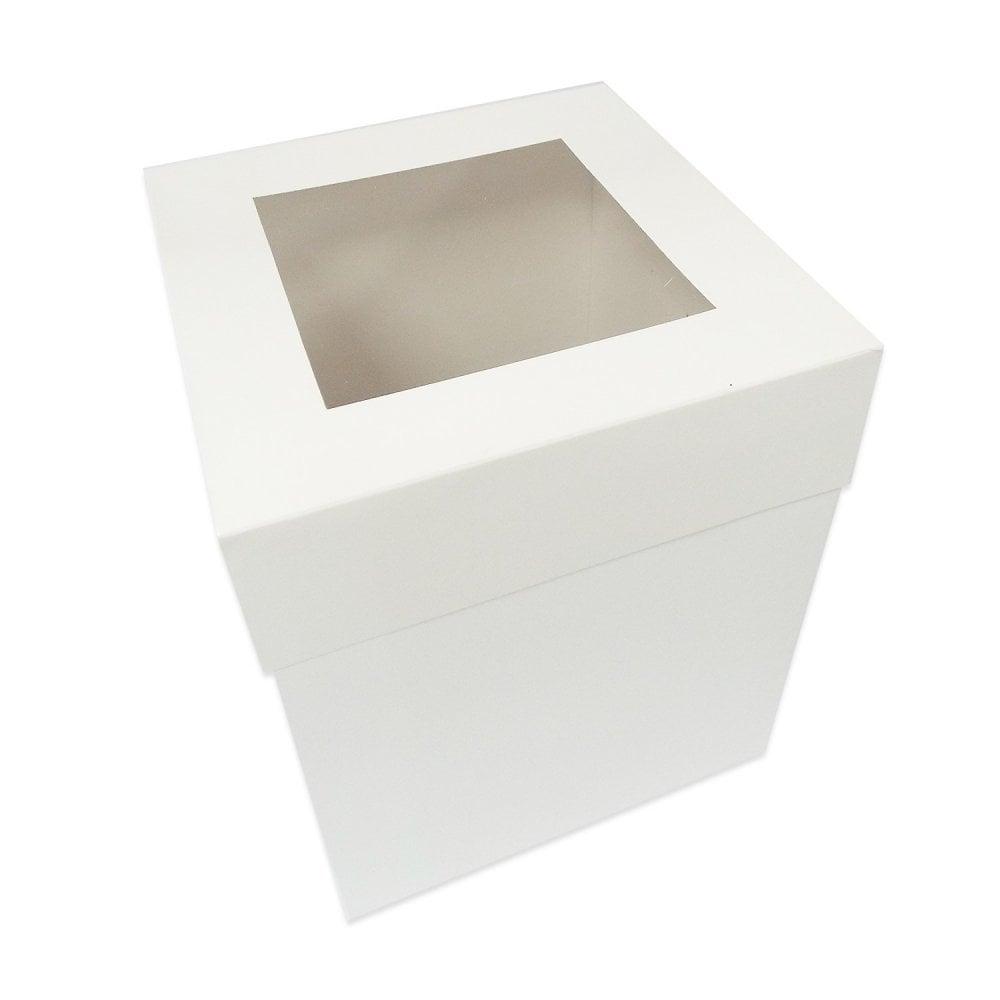 Boîte à gâteaux à fenêtre XL – Choisir la taille