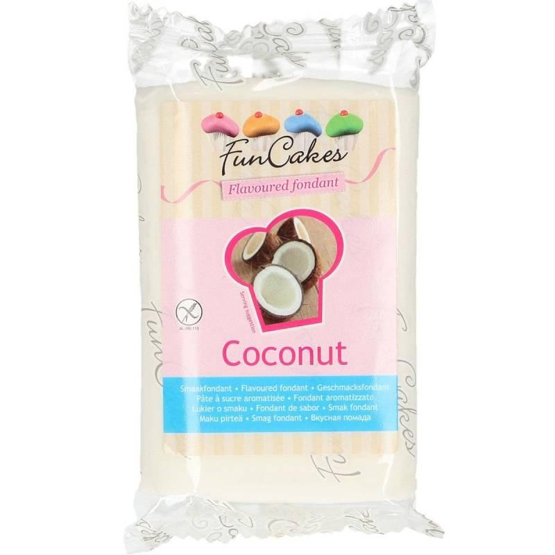 Pâte à sucre à saveur 250 g – Noix de Coco