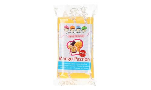 Pâte à sucre à saveur 250 g – Mangue/Passion