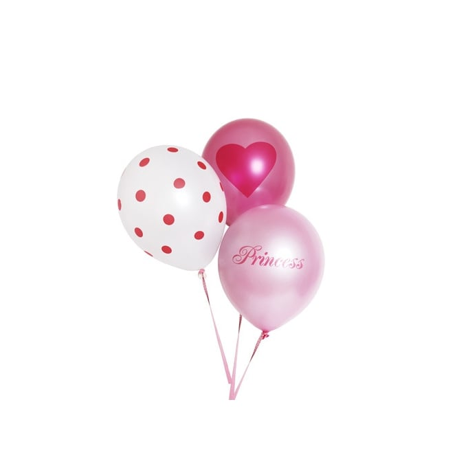 Ballons - Princesse - Lot de 6