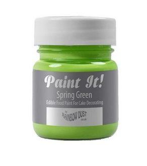 Peinture alimentaire 25 ml - Vert de printemps