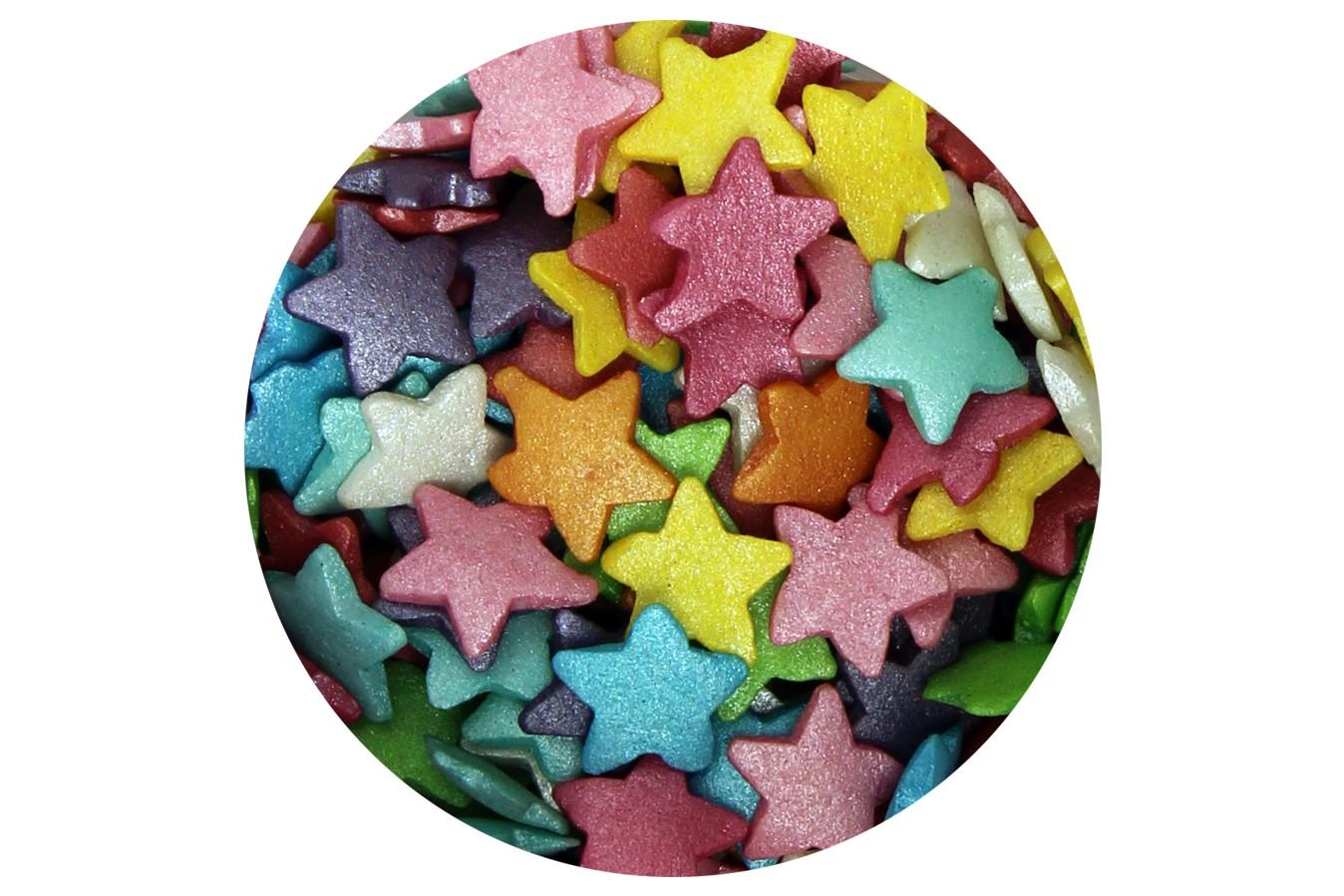 Confetti - Etoiles Multicolores