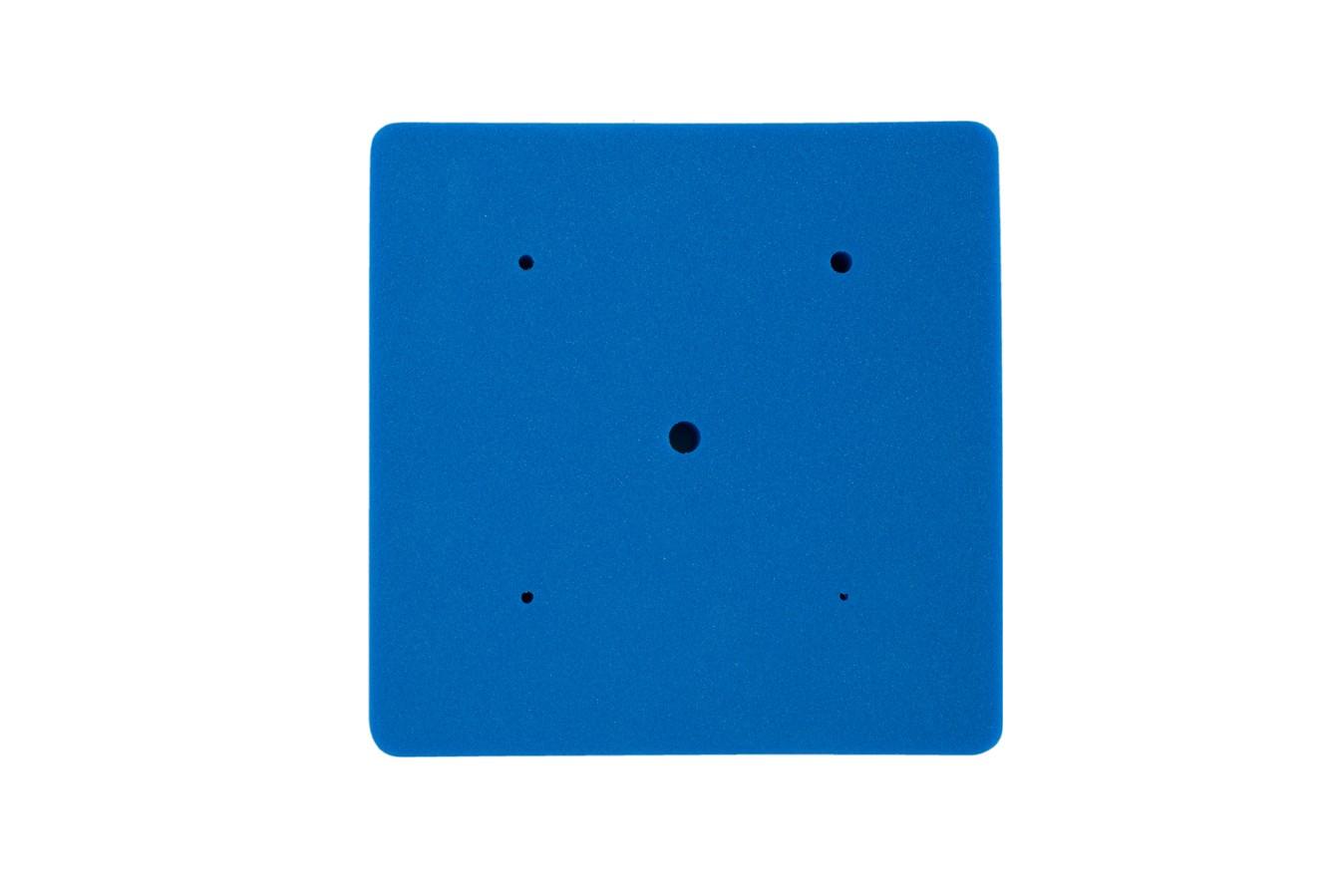 Tapis en mousse pour modelage de fleurs - Bleu