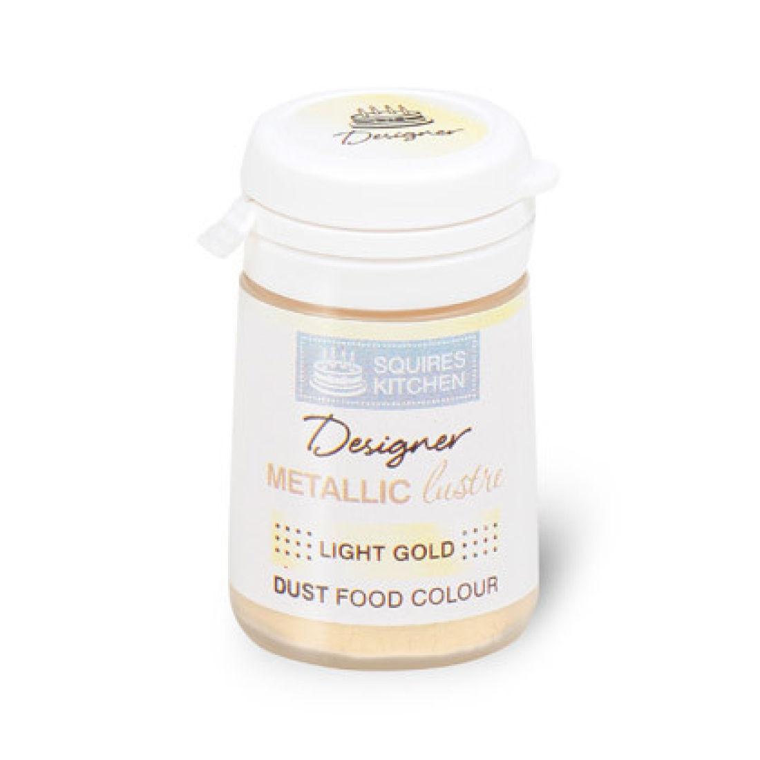 Colorant alimentaire en poudre Métallique 4 g – Or clair